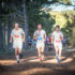 Kicking off in Rooisand (Kleinmond) on Saturday, 18 March 2017, Stage Two of the Cell C AfricanX Trailrun presented by ASICS will treat runners to magnificent views while lucky trail runners just might catch a glimpse Kleinmond's elusive wild horses.  Seen here (from left to right):  Damien Hewitt, John McInroy and Robert Lebrun in action during the 2016 Cell C AfricanX Trailrun presented by ASICS.  Photo Credit: Tobias Ginsberg