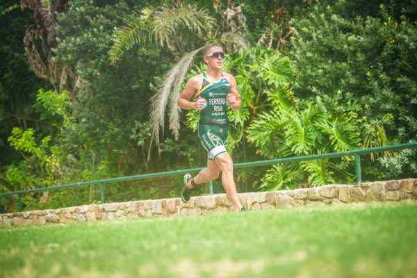 South Africa's premier off-road triathlon, the Fedhealth XTERRA heads to Kings Beach (Nelson Mandela Bay) this coming weekend (Friday, 10 February 2017 – Sunday, 12 February 2017).  Kicking off with the Fedhealth XTERRA Kids on the Friday, followed by the Fedhealth XTERRA Full on the Saturday and the Fedhealth XTERRA Lite and XTERRA Trail Run on the Sunday, there is an event for athletes of all ages and fitness levels. Michael Ferreira in action at the Fedhealth XTERRA Lite Nelson Mandela Bay in 2016.  Photo Credit:  Tobias Ginsberg