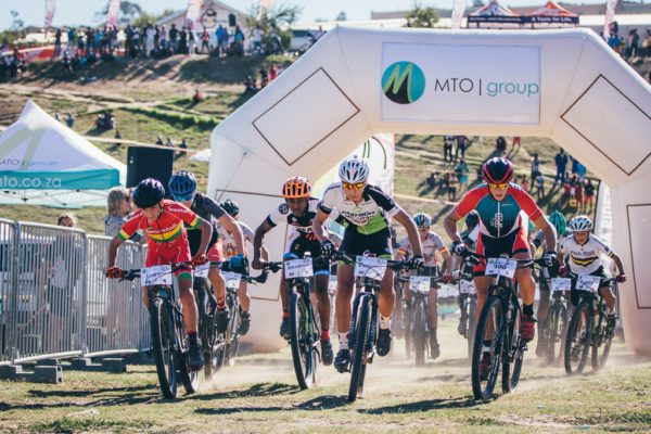 The MTO Champions' Race features 'Future' Champions' Races for boys and girls in the under 14 and under 18 age groups, these events start at 16:00. Photo by Ewald Sadie.