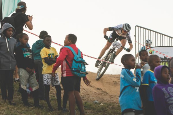 Though Christoph Sauser might not have secured his customary place on the MTO Champions Race podium this year he is undoubtedly in fine form leading into the Absa Cape Epic. Photo by Ewald Sadie.
