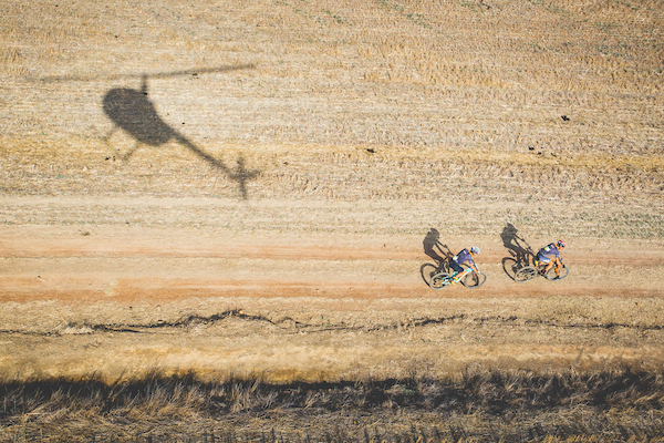 Riders during stage 4 of the 2017 Absa Cape Epic Mountain Bike stage race from Elandskloof in Greyton to Oak Valley Wine Estate in Elgin, South Africa on the 23rd March 2017 Photo by Ewald Sadie/Cape Epic/SPORTZPICS