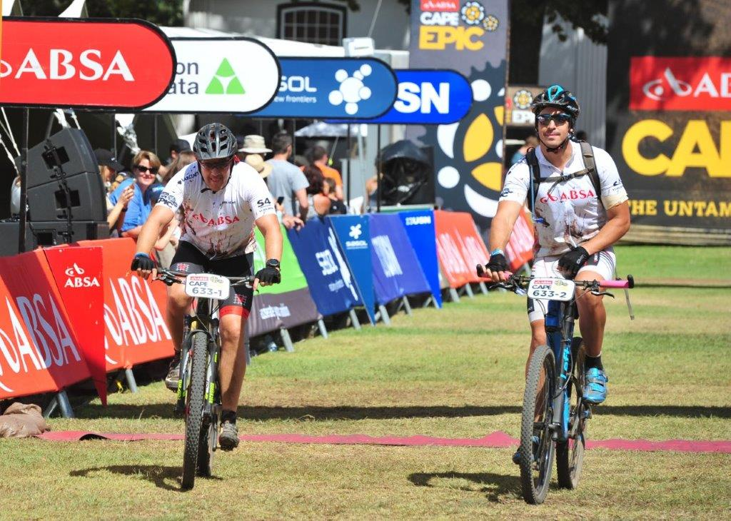 Brothers Sean and Adam Greve, overall #ConquerAsOne winners for the 2016...