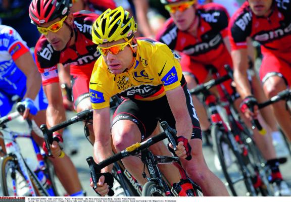 Cycling : 98th Tour de France 2011 / Stage 21 EVANS Cadel (AUS) Yellow Jersey /  Creteil - Paris Champs-Elysees (95Km)/  Ronde van Frankrijk / TDF / Etape Rit /(c) Tim De Waele
