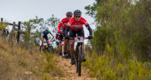 Last year's third place finishers Joel Stransky and Andrew Mclean will be fit for the PwC Great Zuurberg Trek despite both suffering injuries in the build-up. Photo: Warren Elsom