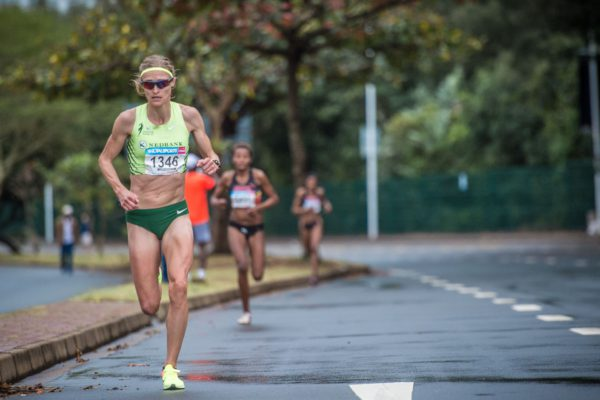 Nike has joined the Totalsports Women's Race's 'Run For Life' campaign in support of PinkDrive in 2017.  Taking place in Durban (Sunday, 16 July 2017), Johannesburg (Wednesday, 09 August 2017) and Cape Town (Wednesday, 09 August 2017) mothers, daughters, sisters, family members and friends are invited to run for themselves, for others, for fighters or for victors.  Support PinkDrive by taking part in the 2017 Totalsports Women's Race in your city, the city that you love. Seen here:  Irvette Van Zyl in action during the 2016 Totalsports Women's Race.  Photo Credit:  Tobias Ginsberg