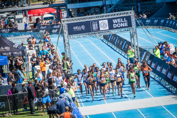 Runners and walkers that missed the online entry cut off deadline for the Cell C Day Of Races powered by Reebok will be happy to hear that late entries will be accepted on the day of the event (Sunday, 23 April 2017) at the Greenpoint A Track. Three runners from the Carbineers Western Province Athletics Club will be seen trying to better their top ten finishing times in the Elite Women's Race.  Ebeth Marais' finishing time of 19 minutes 28 seconds secured her a 7th place in 2016, Nicola Hooper finished 8th in a time of 19 minutes  51 seconds with Candyce Hall rounding off top 10 in a time of 20 minutes 08 seconds.  Seen here:  The start of the Elite Women's race at the 2016 Cell C Day Of Races powered by Reebok.  Photo Credit:  Tobias Ginsberg