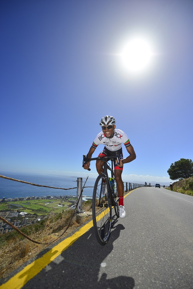 BCX's Reynard Butler will play a supporting a role in the Emperors Palace Classic on Sunday after having just recovered from a broken rib suffered in the Cape Town Cycle Tour. Photo: Zoon Cronje