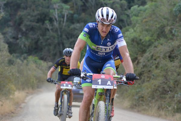 Andrew Hill, riding for TIB Insurance-Momsen Valley Light, will defend his PwC Great Zuurberg Trek title alongside Marco Joubert at the Zuurberg Mountain Village just outside Port Elizabeth at the weekend. Photo: Full Stop Communications