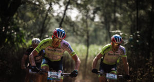 The Team PYGA Eurosteel duo of Matthys Beukes and Philip Buys continued their good form at the Old Mutual joBerg2c where they took the overall race honours standing them in good stead for the 2017 KAP sani2c next week. Em Gatland/ Gameplan Media