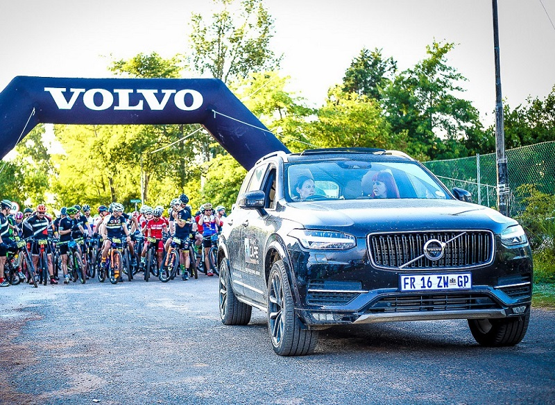 Volvo Car South Africa have extended their partnership with the TransCape mountain bike race to 2018. Photo: Irma Marren Coetzee