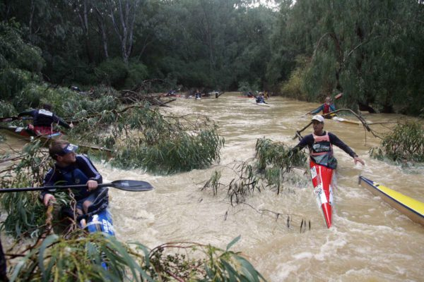 Organisers of the Berg River Canoe Marathon from 12-15 July are considering changes to the first two stages forced on them low water conditions forced on them by the severe drought, and an increase in trees blocks and vegetation growth on the upper reaches of the river. Mouton van Zyl/ Gameplan Media