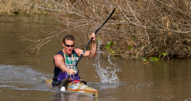 Czech Republic's Petr Mojžíšek will return to the Berg River Canoe Marathon for the second time when he hits the water in Paarl from 12-15 July 2017. Kassie Karsten/ Gameplan Media