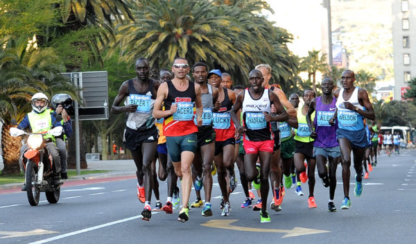 Awarded IAAF Gold Label status earlier this year, the Sanlam Cape Town Marathon is an exhilarating festival of running that brings together runners, elite athletes, social joggers and surrounding communities to enjoy a Spring weekend of running through Africa's spectacularly beautiful Mother City. Photo by Nasief Manie .