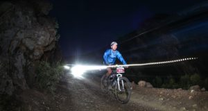 Riding throughout the night is part of the challenge of the 36ONE. Photo by Oakpics.com.