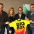 "As keen mountain bikers, the Directors of Big Box Containers are proud to continue supporting the FNB Wines2Whales Mountain Bike (MTB) Events in more ""exciting ways"" than one.  In addition to logistical support in terms of container offices and stores, and donating a 12m container to Cape Trails, Big Box also ran a fun competition where one luck team of mountain bikers could win an entry into the 2017 FNB W2W MTB Events.  Husband and wife duo Deon and Melanie Brenner are the lucky winners of the Big Box competition.   Seen here (from left to right):  Willie Ward (Director of Big Box Containers), Melanie and Deon Brenner and Jasper Coetzee (Managing Director of Big Box Containers)."