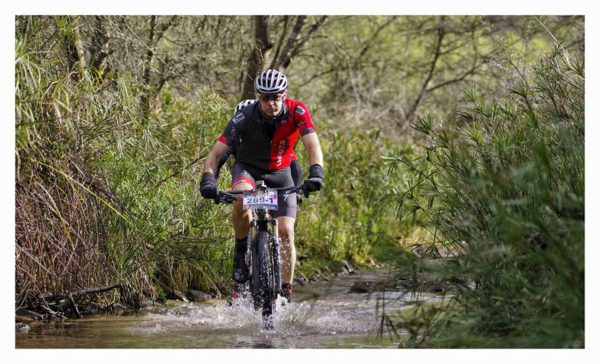 #Langwater, the longest water crossing in the race. Photo Credits – Jacques Marais