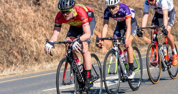 Willie Smit will be part of the RoadCover team aiming to challenge for the title in the 103km road race at the Bestmed Cycle4Cansa Championship at Sun City on Sunday. Photo: Memories4U Photography
