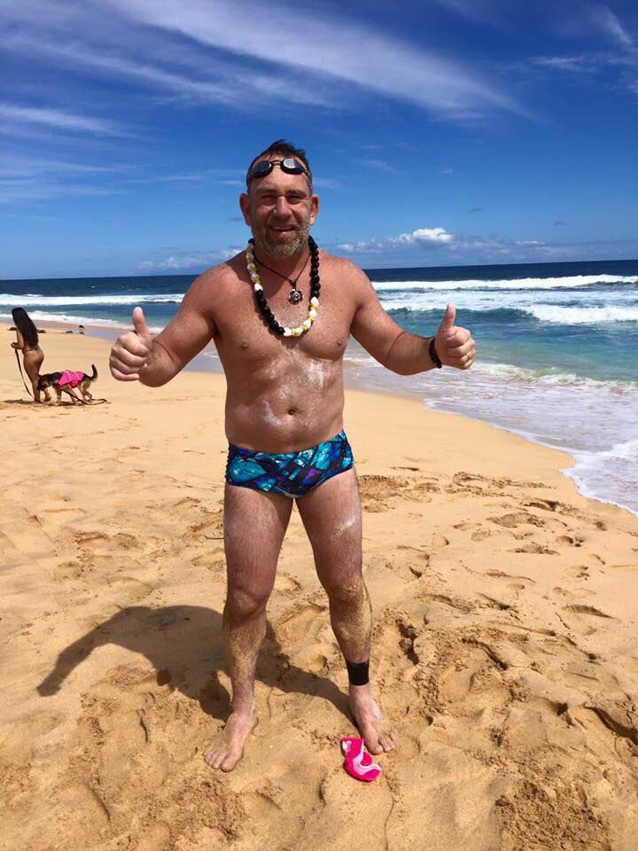 Cape Town businessman Toni Enderli braved over 20 hours in shark infested waters, suffered consistent jellyfish stings and fought a punishing rip tide to conquer one of the world's harshest ocean swims, the Molokai Channel in Hawaii over the weekend. The swim was aimed at raising funds to help prevent drownings in SA.