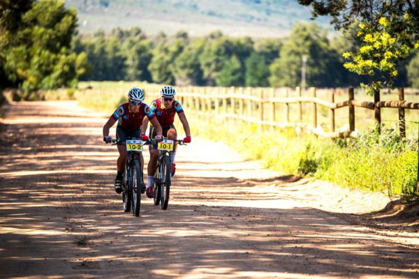 Stellenbosch University are fired up to defend their title in the two-day Varsity MTB Challenge that takes place from Nederburg wine farm near Paarl on Saturday and Sunday. Photo: Robert Ward