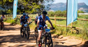 Participants in the two-day Varsity MTB Challenge will face some fresh challenges when the race gets under way at Nederburg in Paarl on September 30. Photo: Robert Ward