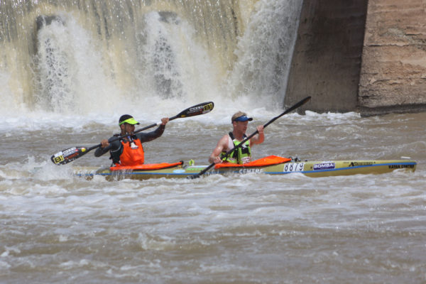 It was two solid days for the pair of Murray Starr and Adrian Boros as they finished third overall after the second and final stage of the 2017 Fish River Canoe Marathon on Saturday. Nick Tatham/ Gameplan Media