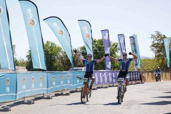UCT Men win stage two at the Varsity MTB Challenge at Nederberg Wine Estate in Paarl on October 1, 2017