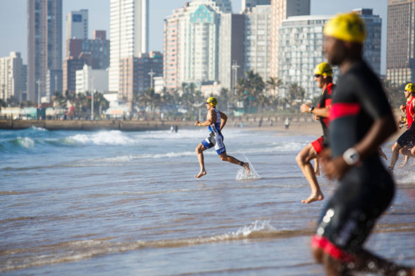 The famous Durban beachfront will provide the backdrop to the 2018 MiWay Durban Ultra Triathlon which will take place on Sunday, 4 March 2018. Kevin Sawyer/ Gameplan Media