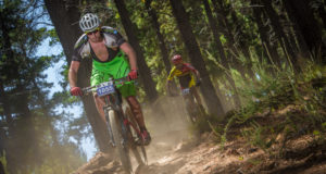 Riders in action during the 2016 BUCO Origin Of Trails.  Photo Credit:  Tobias Ginsberg