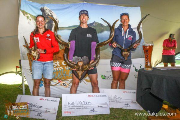 Kelly Van Der Toorn winning WWW