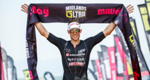On the comeback from his serious spine injury, champion triathlete Matt Trautman is looking forward to the 2018 MiWay Durban Ultra Triathlon on Sunday, 4 March 2018. Kevin Sawyer/ Gameplan Media