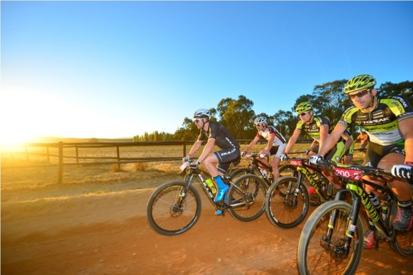 The Momentum Health Tankwa Trek, presented by Biogen, once again boasts a field filled with local and international mountain biking stars. Photo by Zoon Cronje.