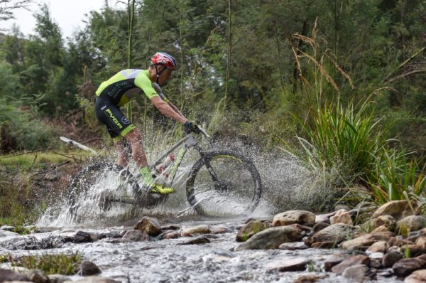 2018 Momentum Health Attakwas Extreme, presented by Biogen, race winner Matthys Beukes in action. Photo by Zoon Cronje.