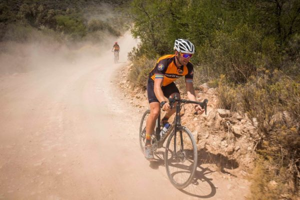 Jan Braai, known for his braaing skills, will test his ability on the bike when he competes in the Liberty TransCape MTB Encounter from Knysna to Franschhoek month. Photo: Supplied