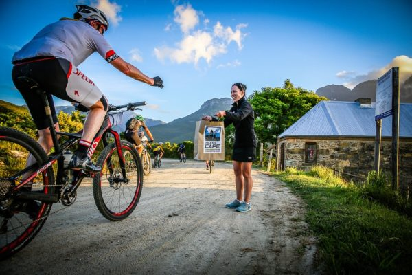 The Liberty TransCape MTB Encounter will again raise funds during the seven-day race from Knysna to Franschhoek in the Western Cape starting on February 4 to support Africa Foundation. Photo: Irma-Marren Coetzee