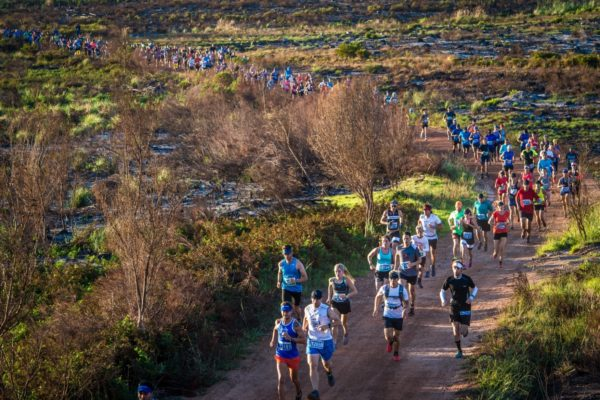 Taking place at the Grabouw Country Club on Saturday, 24 February 2018, the XTERRA Trail Run grants trail running enthusiasts the opportunity to experience the vibe of the Fedhealth XTERRA South African Championship.  Seen here:  Trail Runners in action during the 2017 XTERRA Trail Run.  Photo Credit:  Tobias Ginsberg