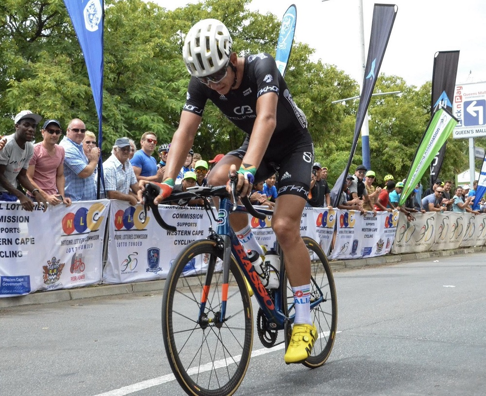 National U23 road champion Jason Oosthuizen will be aiming to confirm his potential when he competes in the Bestmed Berge en Dale road race at Muldersdrift on the West Rand in Gauteng on Saturday. Photo: Into Cycling
