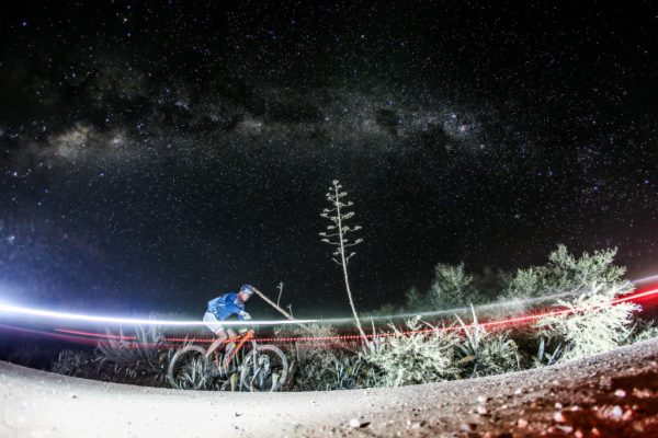 The starlit Klein Karoo is calling already with early bird entries to the 2019 36ONE MTB Challenge opening on Thursday the 26th of April. Photo by Oakpics.com.