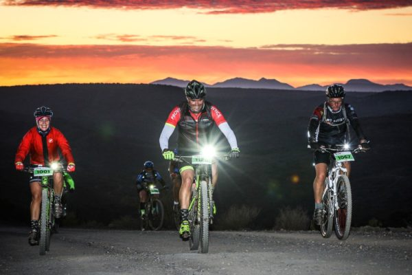 Riding through the night and experiencing a Klein Karoo sunrise from your bike is one of the unique appeals of the 36ONE. Photo by Oakpics.com