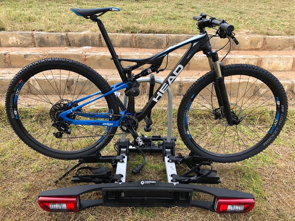 South African cyclists will be able to view the Westfalia BC 75 ZA bike rack, which is available to order from tomorrow, at the Positive Sports Solutions showroom in Irene, Centurion. Picture: Supplied