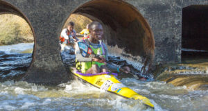 Mthobisi Cele (pictured) will join up with good friend and Martin Dreyer Change a Life Academy team mate Mpilo Zondi in the new team format for the 2018 Berg River Canoe Marathon in the Western Cape from 11-14 July 2018. John Hishin/ Gameplan Media
