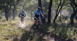 Competitors in the Liberty Waterberg Encounter, presented by STANLIB, will face some interesting challenges in the three-day mountain-bike race in Bela Bela, Limpopo, from Friday to Sunday. Picture: Gerrie Kriel/Twin Productions SA