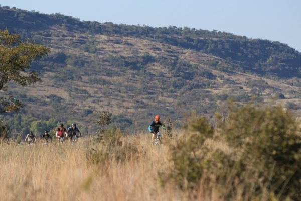 The Liberty Waterberg MTB Encounter, presented by STANLIB, offers wide and open sections where riders can enjoy the experience of a bushveld mountain-biking challenge. Photo: Gerrie Kriel/Twin Productions SA