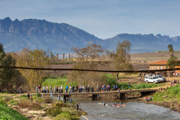 The beautiful Swartland played host to stage one of the 2018 Berg River Canoe Marathon on Wednesday. John Hishin/Gameplan Media