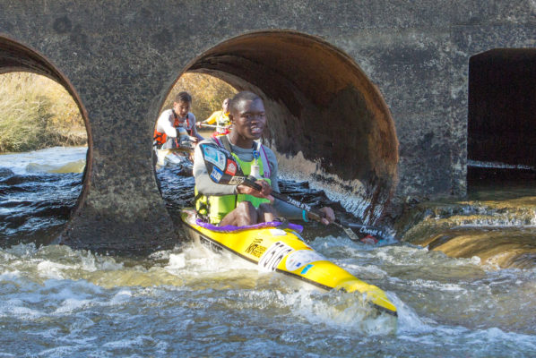 Mthobisi Cele (pictured) will join up with good friend and Martin Dreyer Change a Life Academy team mate Mpilo Zondi as team Capensis for the 2018 Berg River Canoe Marathon in the Western Cape from 11-14 July 2018. John Hishin/ Gameplan Media