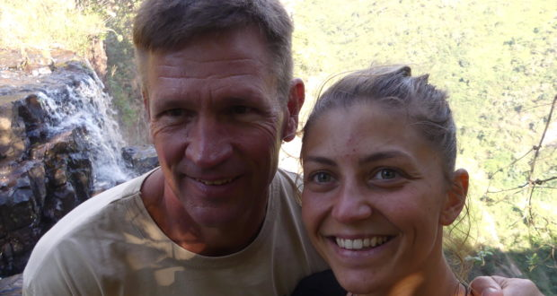 Greg Vogt and Sara Agostini will set out to paddle 67 kilometres at Shongweni dam on Mandela Day on Wednesday to try and save reserve. Supplied/Gameplan Media