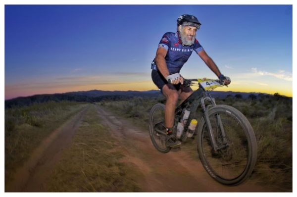 Trans Baviaans founder Wikus van der Walt in action on the Momsen Vipa Ultra. Van der Walt and Sharples completed the event in a time of 13 hours and 23 minutes. Photo by Jacques Marais.