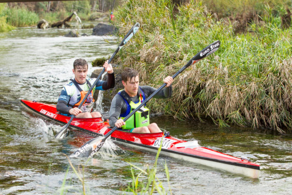 Stu MacLaren will be aiming for a fourth consecutive Breede River Canoe Marathon title and a second on the trot with his partner Kenny Rice. Kassie Karstens/ Gameplan Media