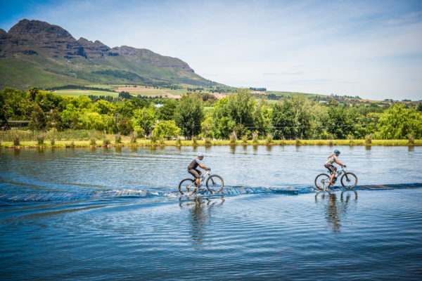Mountain bikers in action during the 2017 Origin Of Trails MTB Experience.  Photo Credit:  Tobias Ginsberg