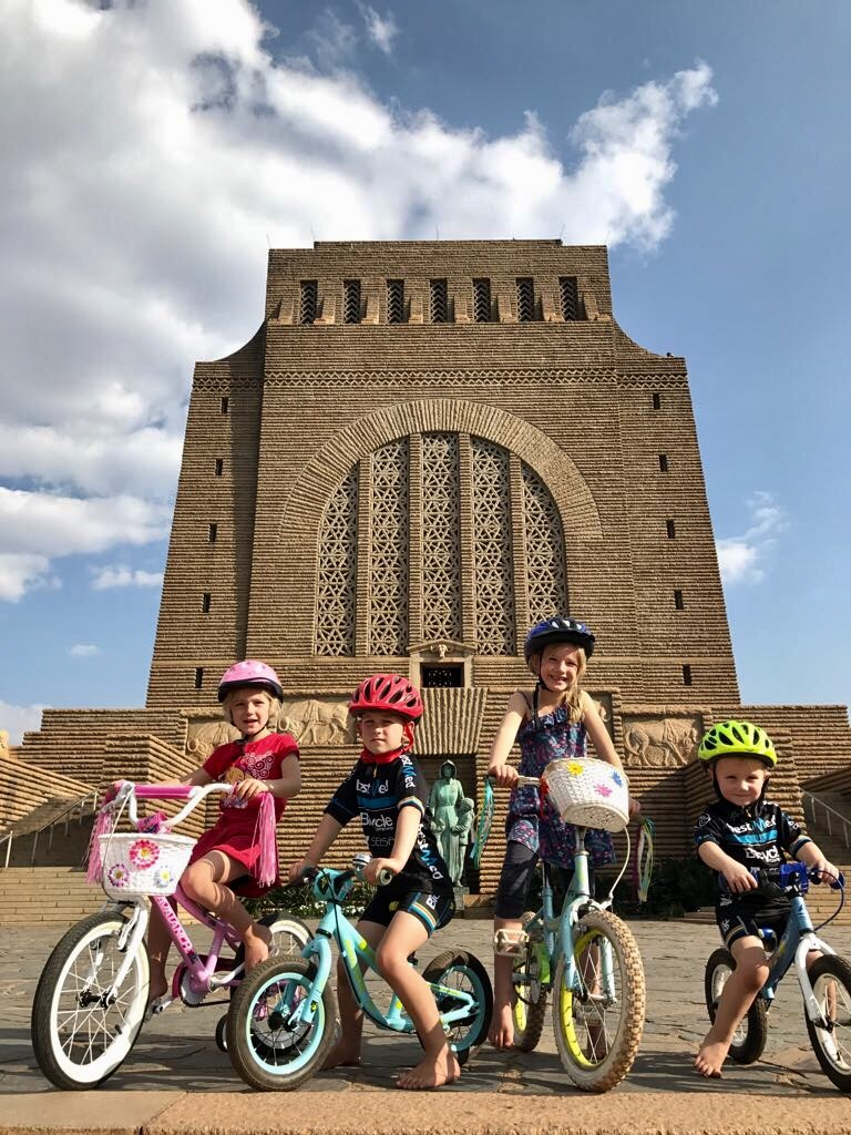 It's not all about the adults at the Tshwane Classic. Tomorrow's heroes also get a chance to show off their cycling skills in the kids' events at the Voortrekker Monument.