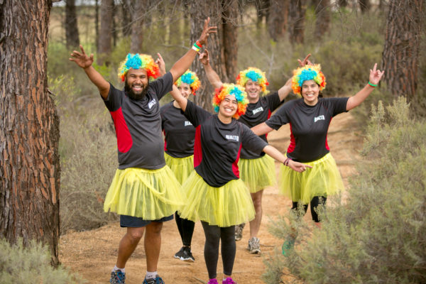 Team Rialto enjoying their team building session at the Fedhealth IMPI Challenge #1 earlier this year.  Photo Credit:  Mark Sampson